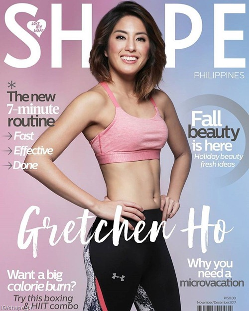 Gretchen Ho for Shape Nov-Dec 2017