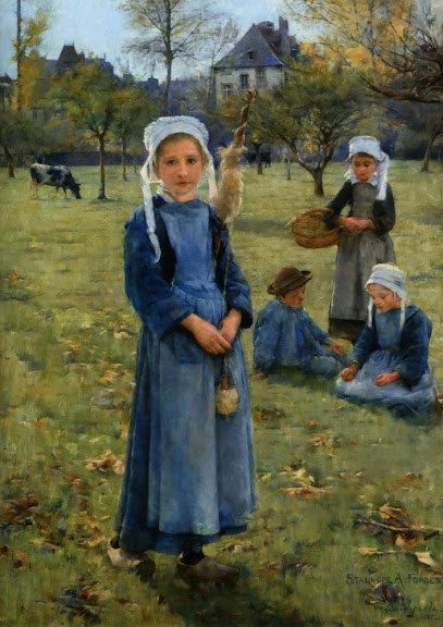Stanhope Forbes - The Orchard