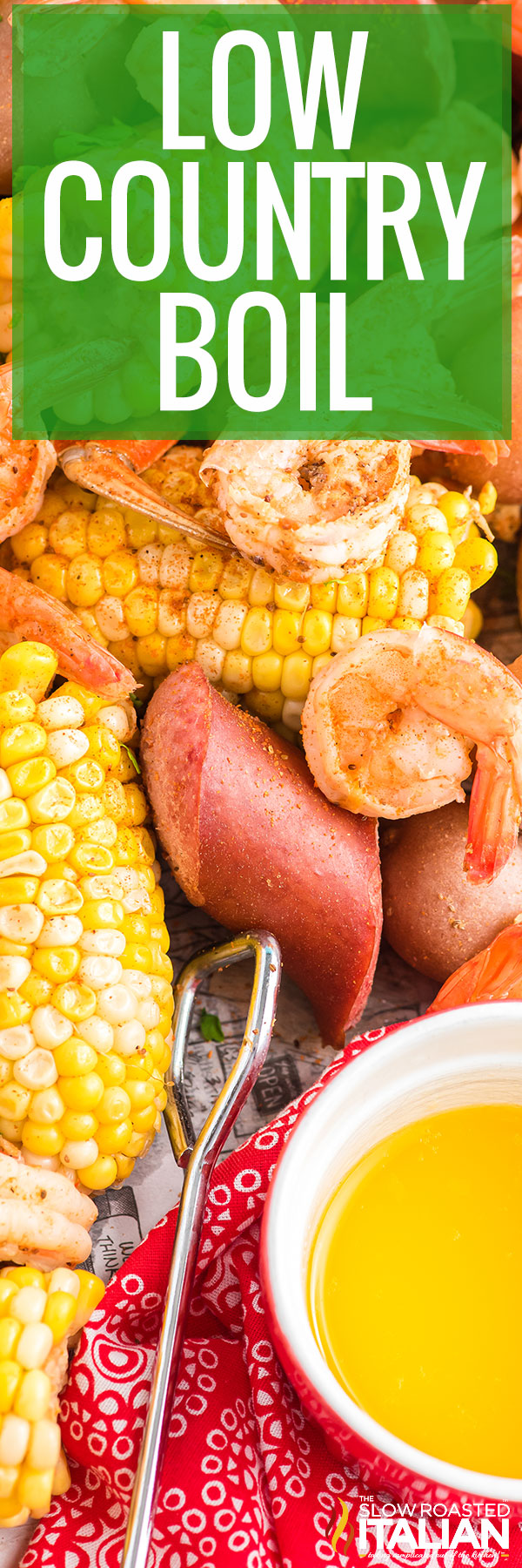 Low Country Boil spread