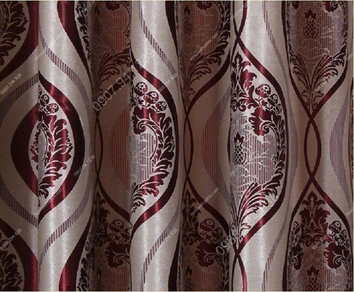 Rèm cửa hà nội đẹp phong cách huyền bí 14