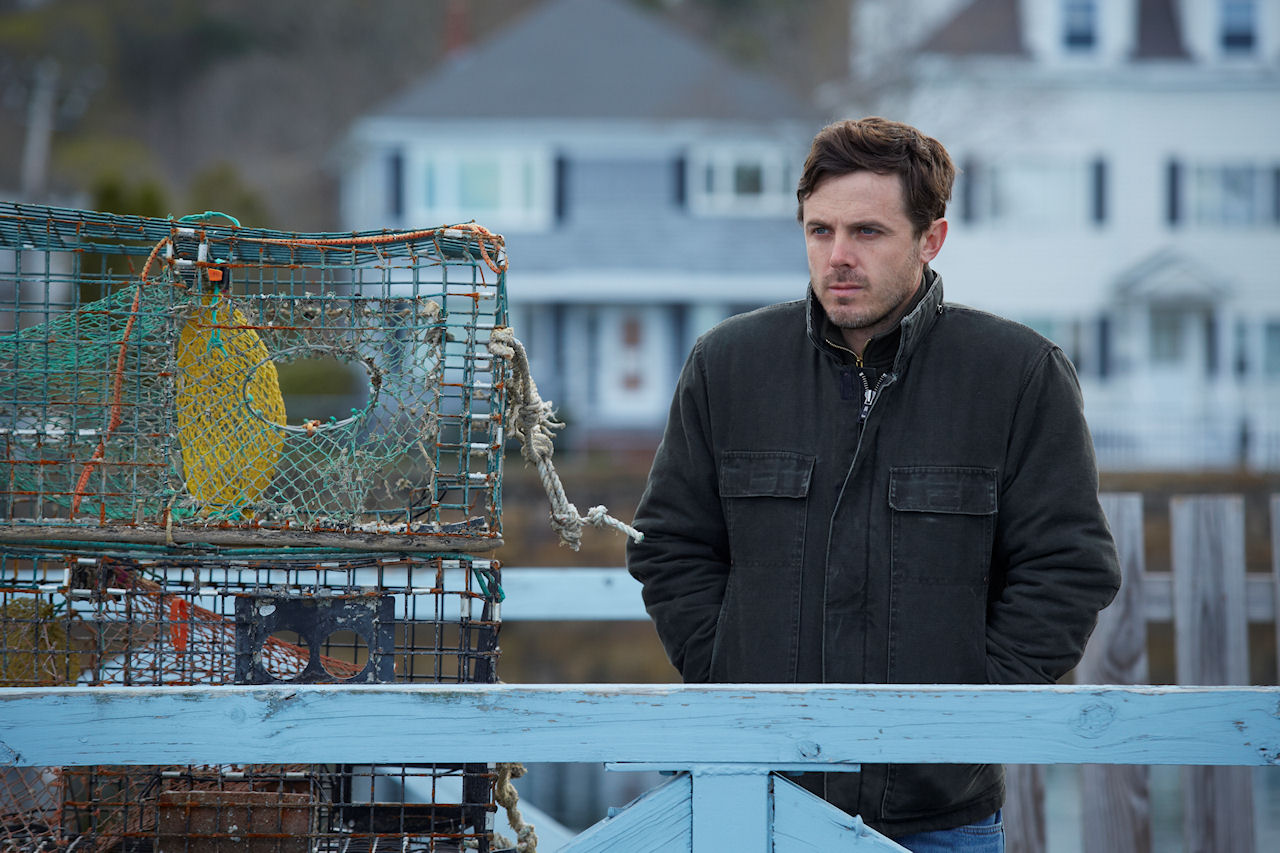 Casey Affleck in MANCHESTER BY THE SEA. (Photo by Claire Folger / courtesy of Amazon Studios and Roadside Attractions)