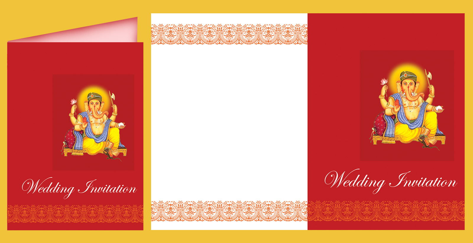 Hindu Wedding Invitation Card: Tela's Blog: Hindu Wedding Invitation