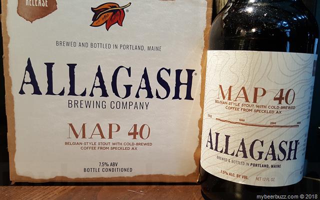 Mybeerbuzz .com Highlights Allagash Brewing Map 40
