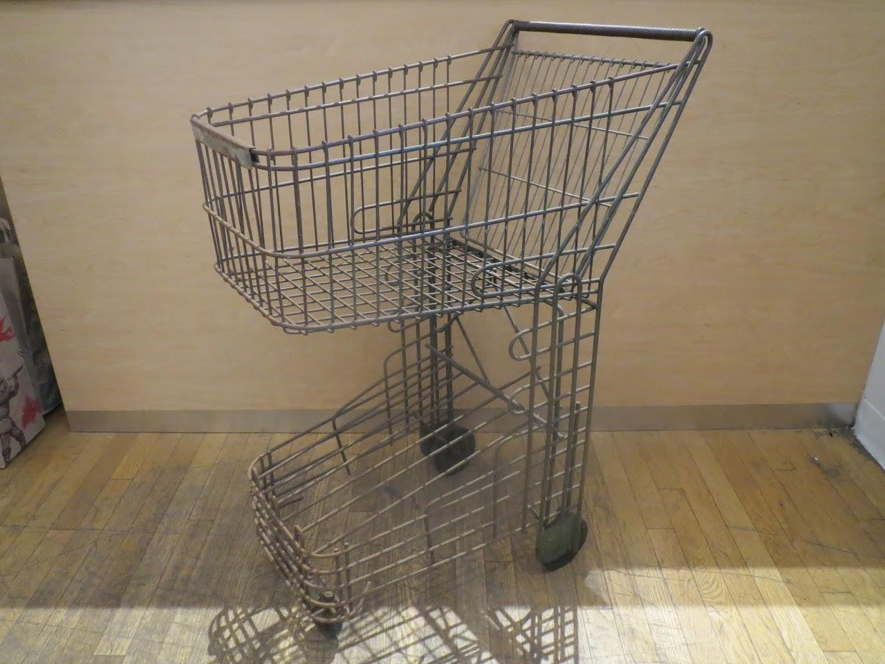 Vintage  Shopping Cart