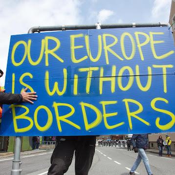 Demo gegen Grenzschließung am Brenner (Fotos: M. Schaller)