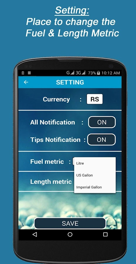 Mileage and Fuel Calculator- screenshot