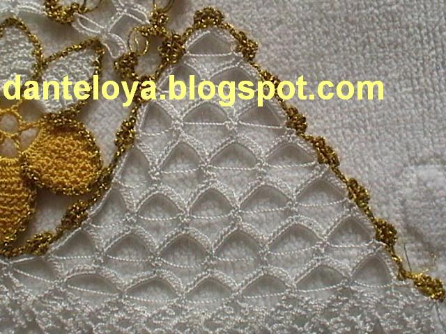 dantel çeyizlik havlu kenarı