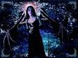 Fallen Angel With Dark Vampire Wings