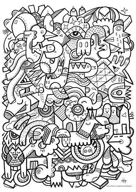 Free Coloring Page Coloring Adult Difficult Art Difficult