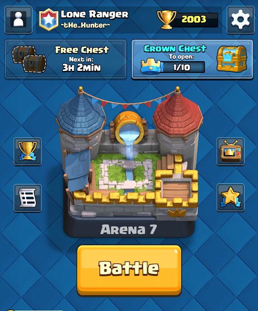 Clash Royale Arena 7