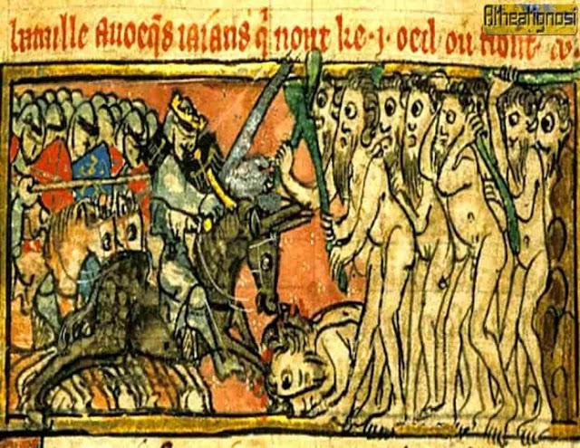 μέγας αλέξανδρος και χειρόγραφα για τους Κρονίους,Great Alexander against Nephilims.