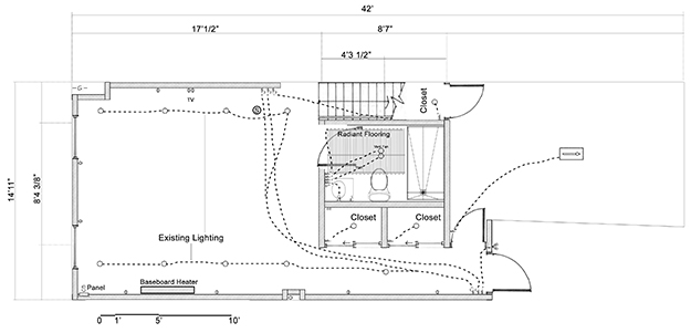 Petworth Row House: The Plan: Basement Renovation