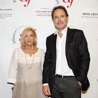 Marc Levy & Celhia de Lavarenne at UCLA. October 2014