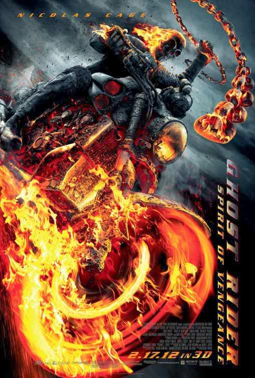 Poster Of Ghost Rider: Spirit of Vengeance (2012) Full Movie Hindi Dubbed Free Download Watch Online At alldownloads4u.com