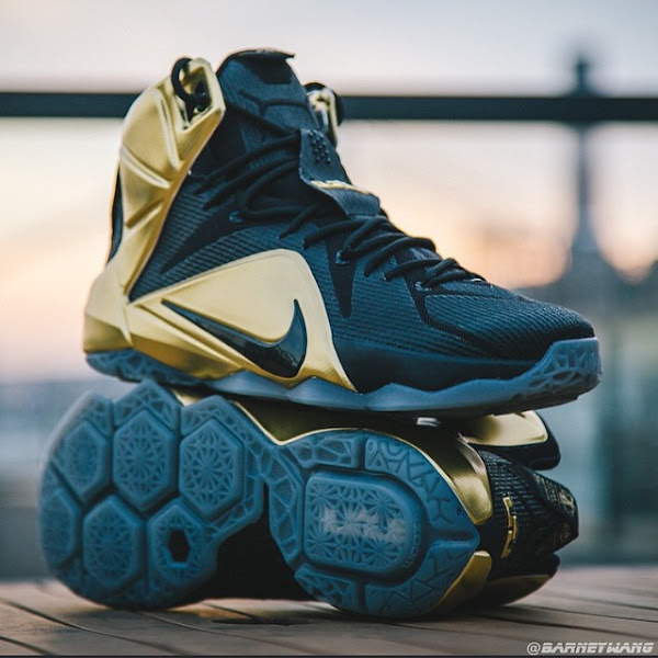 Closer Look at the Elusive Grammy Night LeBron 12 PE