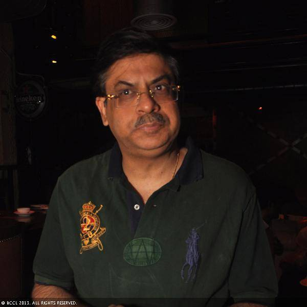 Jayant Advani during Vani Tripathi's birthday bash, held in Delhi.