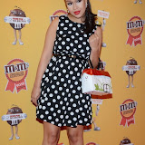 OIC - ENTSIMAGES.COM - Rebecca Ferguson at the M & M  party to celebrate a spoof election of its confectionary characters.  M&M's World, Leicester Square, London, 14th April 2015   Photo Mobis Photos/OIC 0203 174 1069