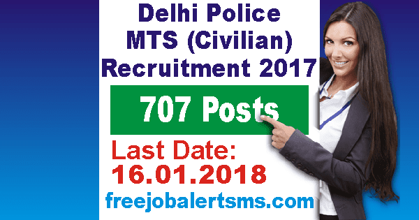 Delhi Police MTS Civilian