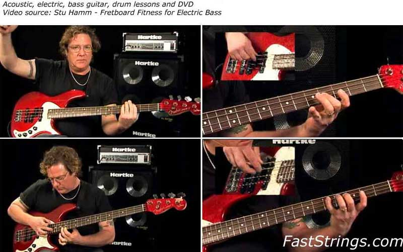 Stu Hamm - Fretboard Fitness for Electric Bass