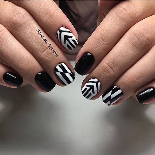 20 MULTI COLOR STRIPES NAIL ART FOR NEW YEAR 2017 - Reny styles