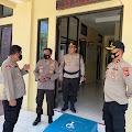 Dalam Rangka Pilkades, Pamatwil Polda Banten Kunjungi Polsek Sajira