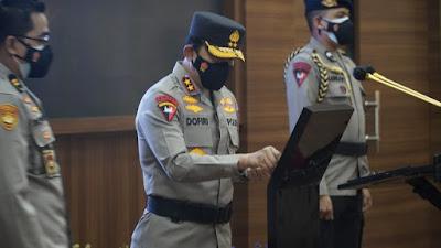 Kapolda Jabar Pimpin Upacara Sertijab Jajaran Kapolres Termasuk Banjar