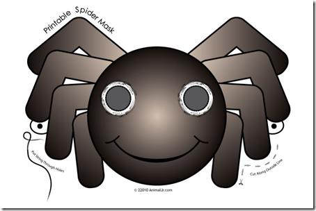 mascara araña