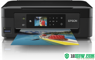 How to reset flashing lights for Epson XP-423 printer
