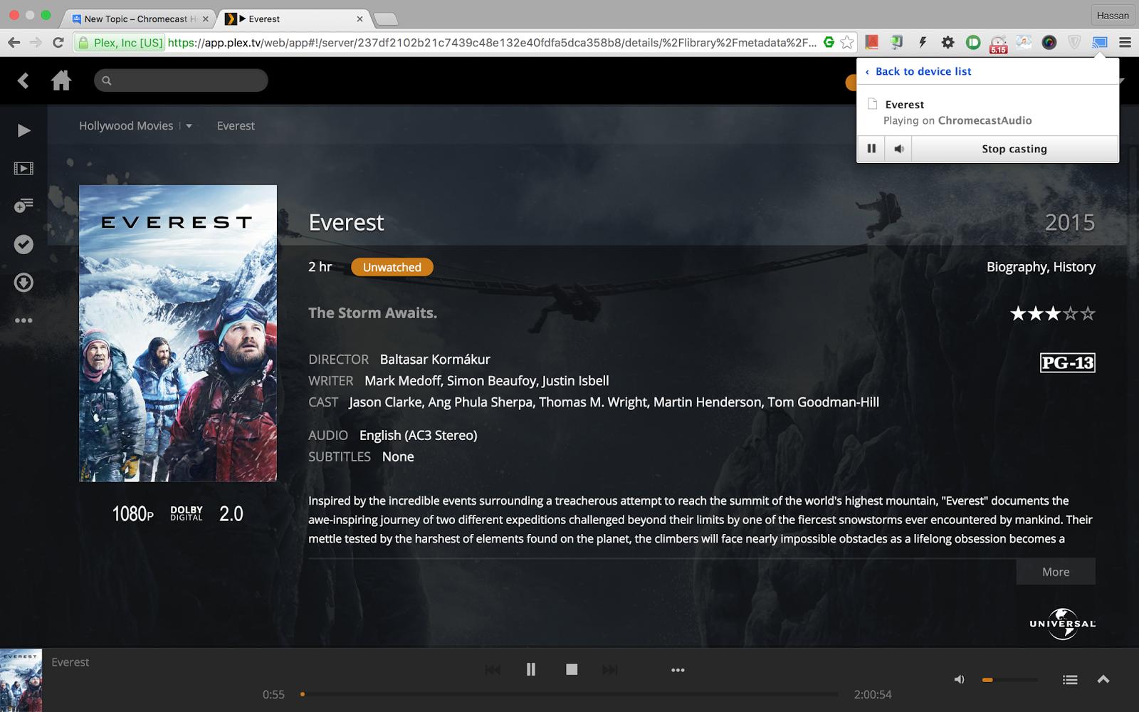 Plex: Using Google Chrome Plugin for Chromecast Audio - Chromecast Help