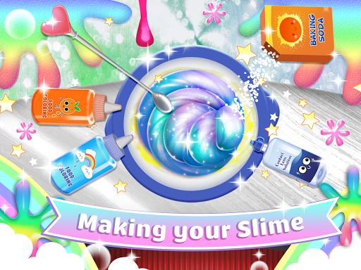 Real Slime Simulator Maker: Dress Up Girl apktram screenshots 1