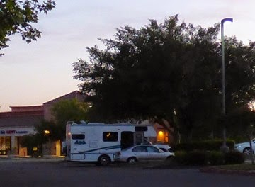Karen and Tony's motorhome, Rolling in a RV -- Wheelchair Traveling