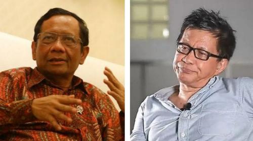 Sindir Pedas Mahfud MD, Rocky Gerung: Dia Berupaya Kontemplasi dari Sarang Korupsi