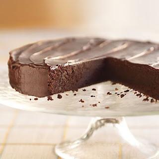 Bittersweet Chocolate Irish Whiskey Cake.