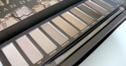 Rosie's Vintage Chic: Urban Decay Naked Palette