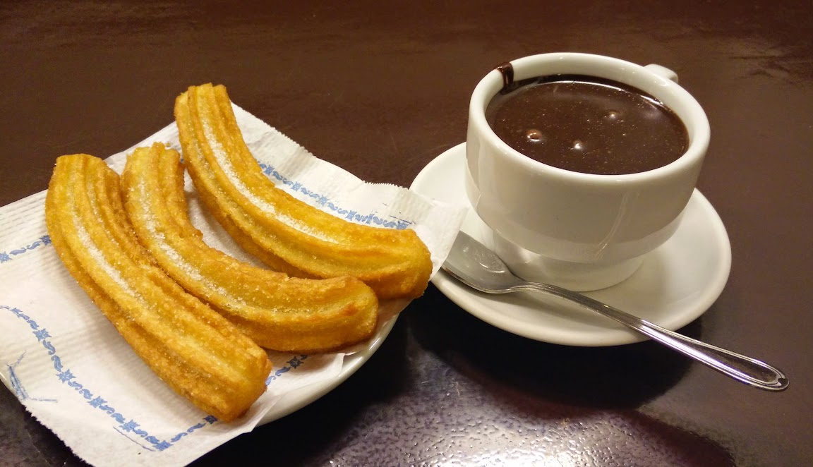 Churros y Chocolate en Barcelona