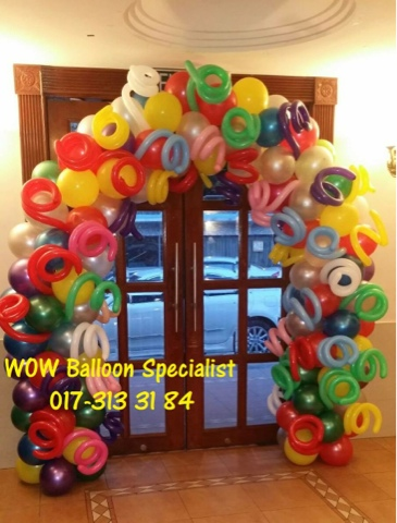 Wow Balloon Decoration Specialist