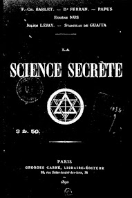 Cover of Papus's Book Science Secrete (1890,in French)