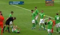 Video goles Holanda Irlanda [6 - 0] amistoso 2 Junio