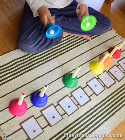 Making Music with Rhythm Bells