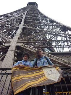 2 Pirsas en la torre Eiffel