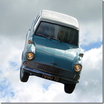 Ford Anglia 105E Harry Potter et la Chambre des Secrets