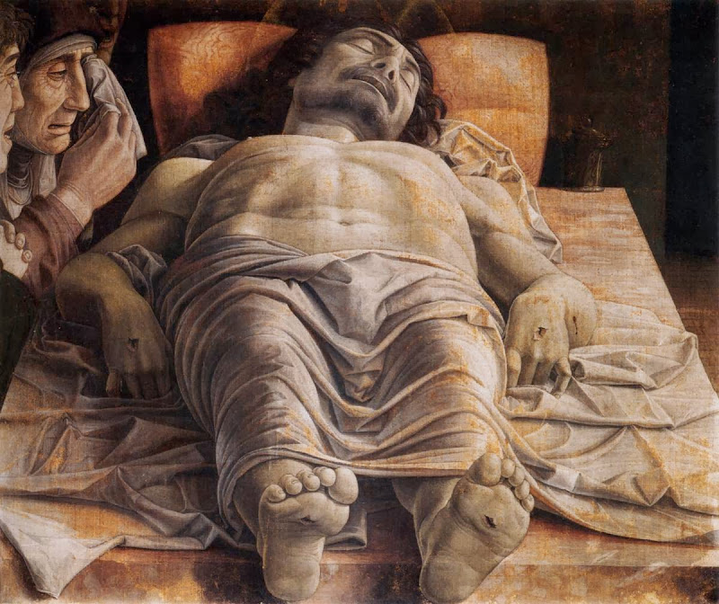 Andrea Mantegna - The Lamentation over the Dead Christ