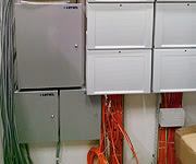 Kartlı geçiş ve yangın ihbar panelleri