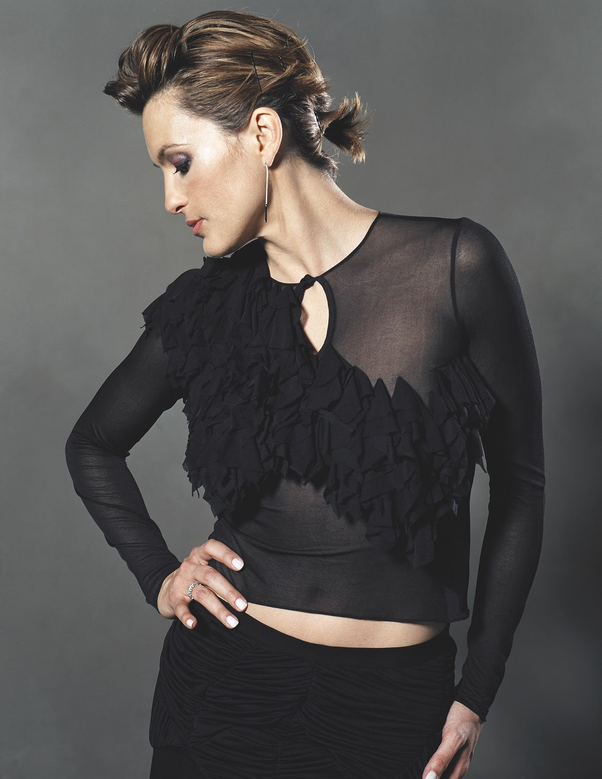 Mariska Hargitay Haircut Short Hairstyle 2013