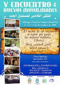 Nuevos Musulmanes. Septiembre 2009