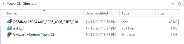 Bringing Back Desktop Shortcut for PowerCli 6 5 1 or Newer