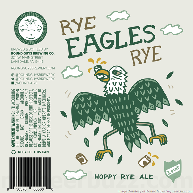 Round Guys Brewing - Rye Eagles Rye