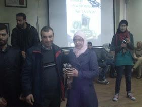 Foto del homenaje por memorización del Corán - CCIV - 16/3/2013