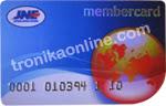 tronikaonline membercard JNE