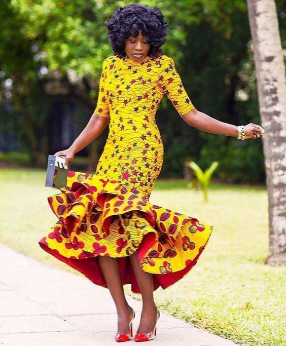 Latest Nigerian Chitenge Dresses 2017